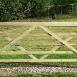 Diamond Brace Field Gate